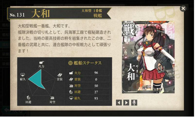 艦これ 図鑑No.131 大和