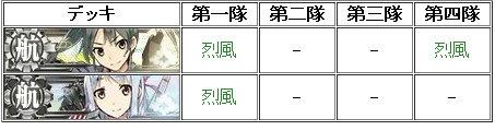 """ボボス前制空権""""優勢""""の烈風の積み方"""