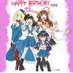 東山さんの誕生日を有名漫画家さんがお祝い!他、金剛は提督ラブ可愛い