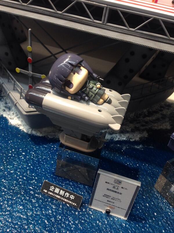 「お風呂これくしょん 艦これ」に新しい仲間!「北上」がお披露目となりました♡ #goodsmile #animejapan #艦これ この可愛さはぜひ生でご覧いただきたいです…!