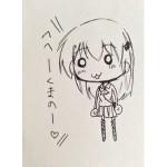 ブリドカットセーラ恵美さん本人が描いた鈴谷と熊野が可愛い!