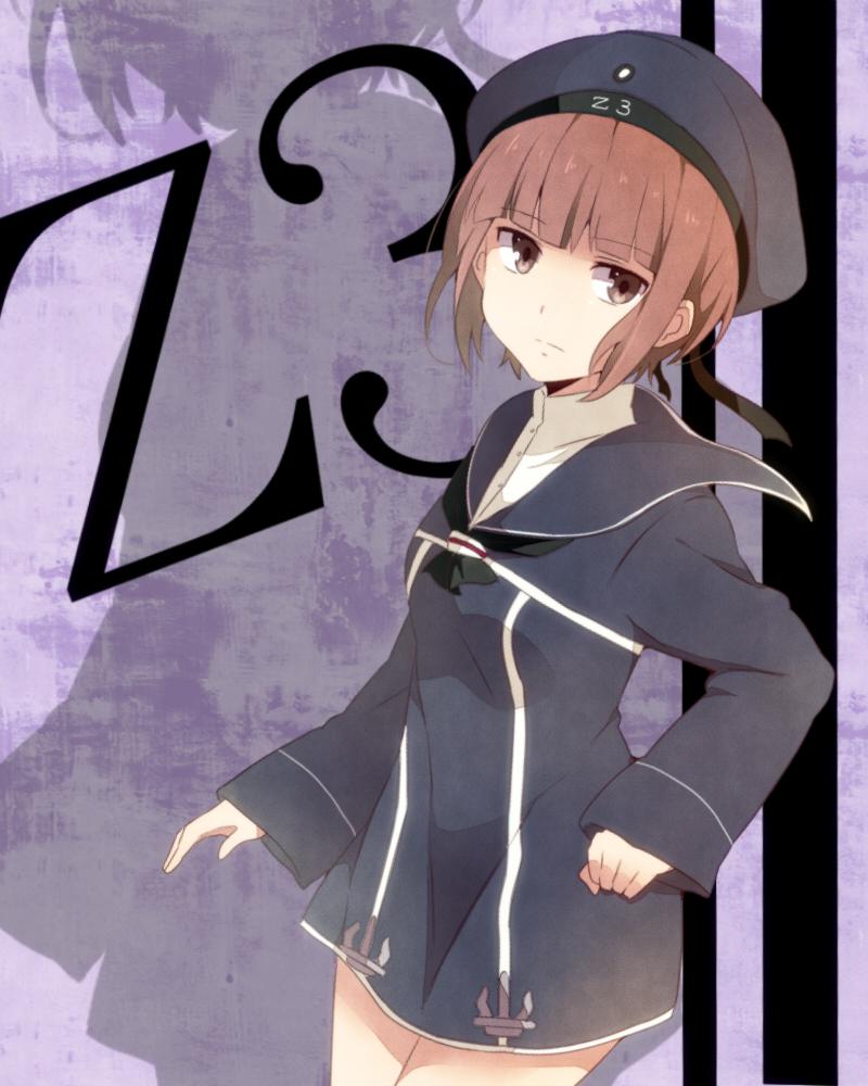 Z3 新しい艦娘かわいい、ジト目いいですね(≖ω≖。)