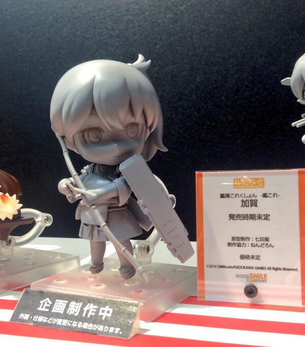 「ねんどろいど 加賀」初お披露目です♡ #animejapan #goodsmile #艦これ ぜひグッドスマイルブースにおこしくださいませ!