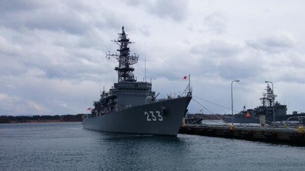 大湊の護衛艦233