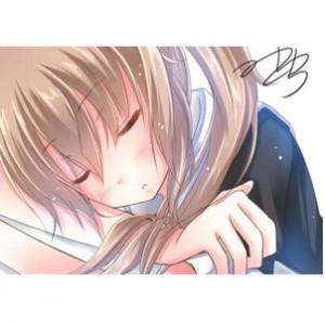 村雨ちゃん描きました~ 守りたい、この寝顔・・・ #艦これ版深夜の真剣お絵描き60分一本勝負 サムネ