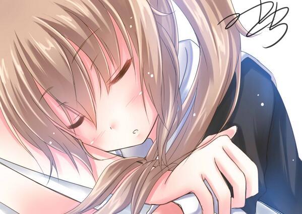 村雨ちゃん描きました~ 守りたい、この寝顔・・・ #艦これ版深夜の真剣お絵描き60分一本勝負