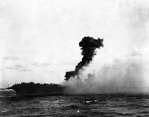 1942年 珊瑚海海戦】 史上初の空...