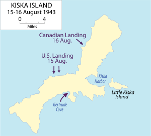 キスカ島撤退作戦