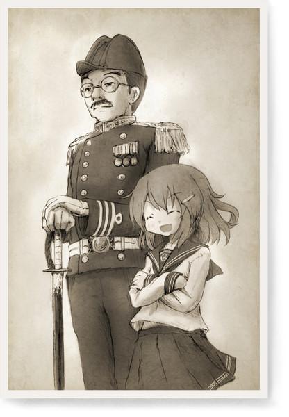 艦として人として 私ね、艦長の駆逐艦になれて本当に良かったって思うの。 艦長がいなければ私はただの兵器としてしか生きられなかったかもしれないから。 戦場でしか生きられない私に人の心を教えてくれたから。