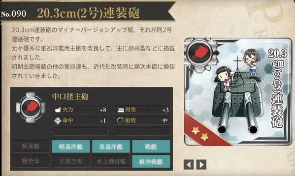 20.3cm(2号)連装砲
