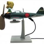 こいつ回るぞ・・・!妖精さん専用機として零戦卓上扇風機が予約開始!