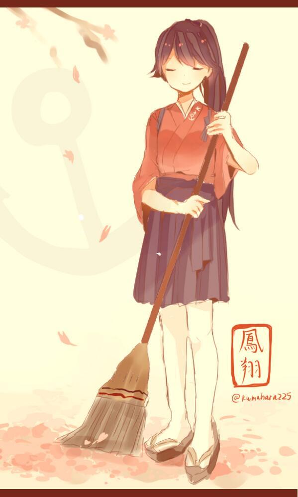 桜散る季節 #艦これ版深夜の真剣お絵描き60分一本勝負