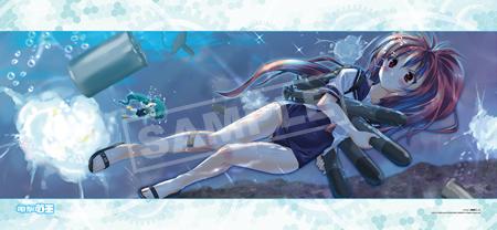 艦これ×電撃萌王コラボ バトルメモリアルタオル Ver.伊168 イラスト:駒都えーじ