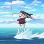 アニメ『艦これ』PVのスケートしながら弓引く赤城さん コラが大量発生中w
