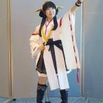 横浜観艦式でのコスプレ 東山奈央さんの「金剛」、野水伊織さんの「翔鶴」が公開