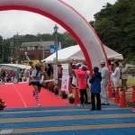 「舞鶴赤レンガハーフマラソン2014」に島風おじさん出場w しかもはっやーい!