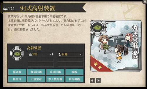 図鑑No.121 94式高射装置