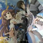 コンプティーク12月号に描きおろしのアニメ版「金剛」&「吹雪」